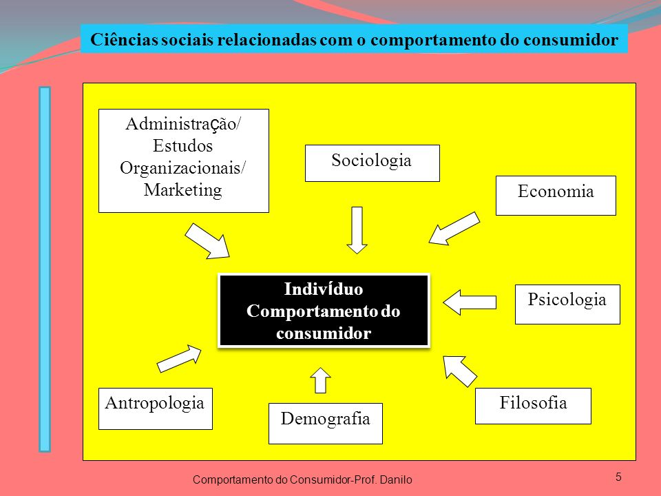 Ciências sociais relacionadas com o comportamento do consumidor