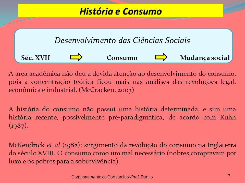 Desenvolvimento das Ciências Sociais