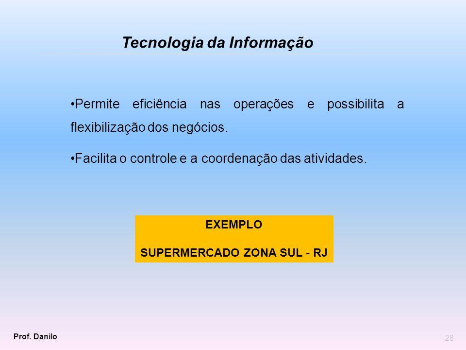 SUPERMERCADO ZONA SUL - RJ