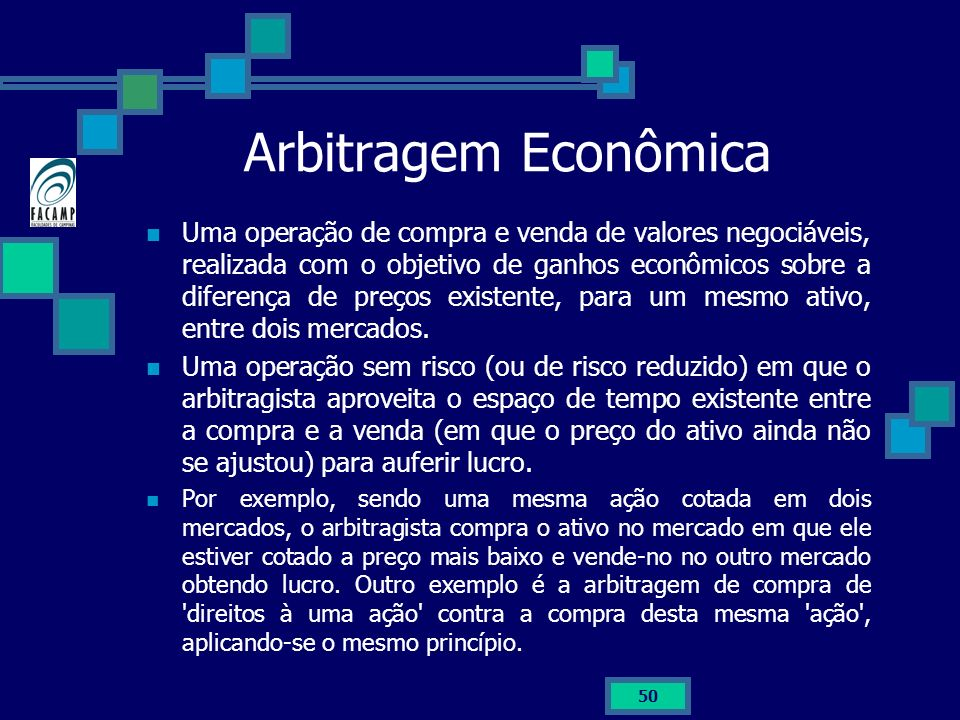 Arbitragem Econômica