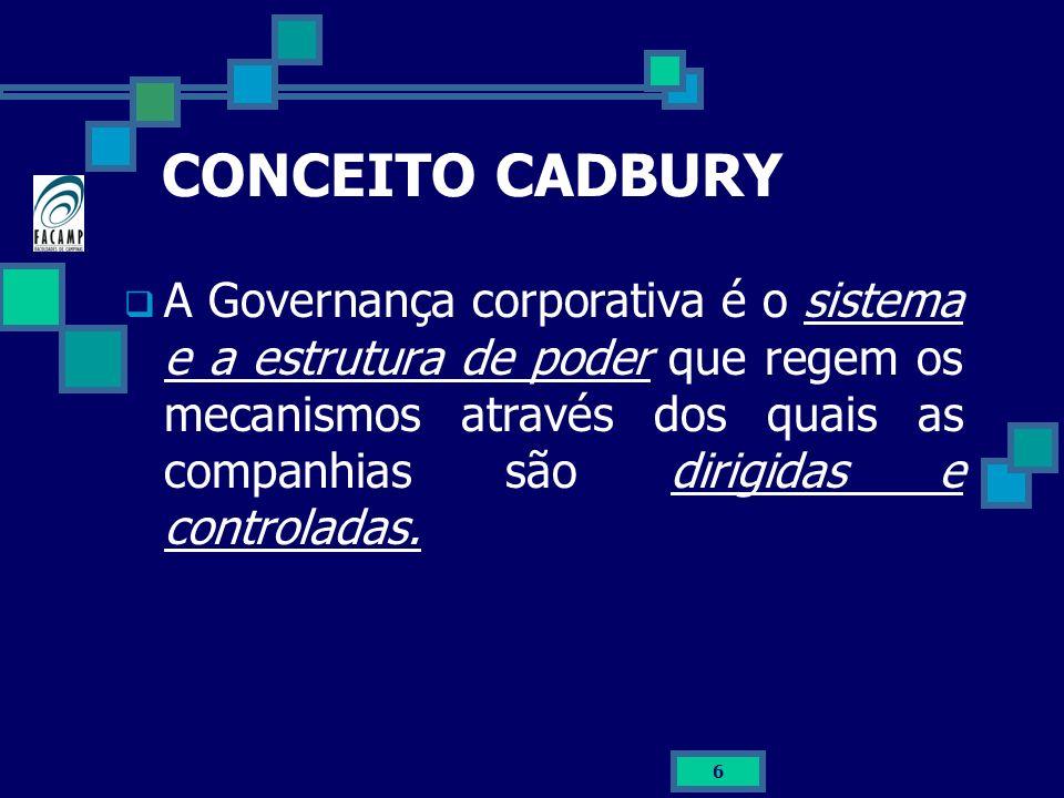 CONCEITO CADBURY