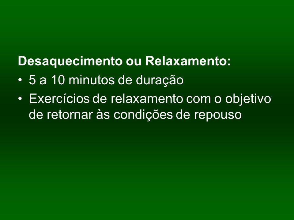 Desaquecimento ou Relaxamento: