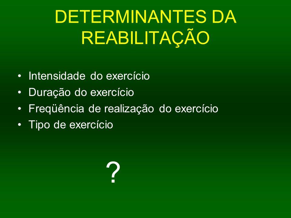 DETERMINANTES DA REABILITAÇÃO