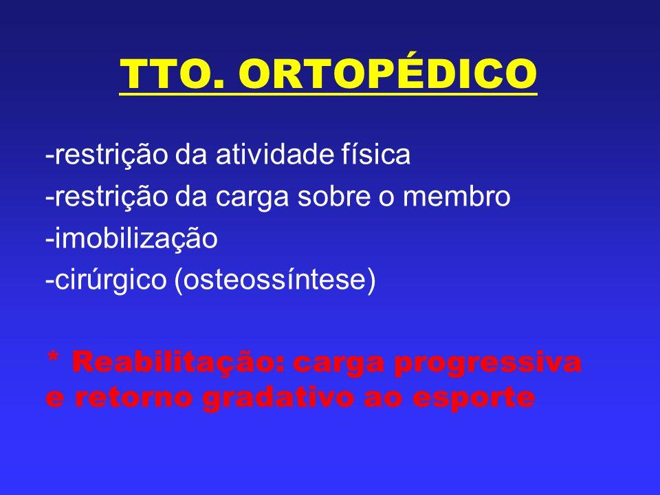 TTO. ORTOPÉDICO restrição da atividade física