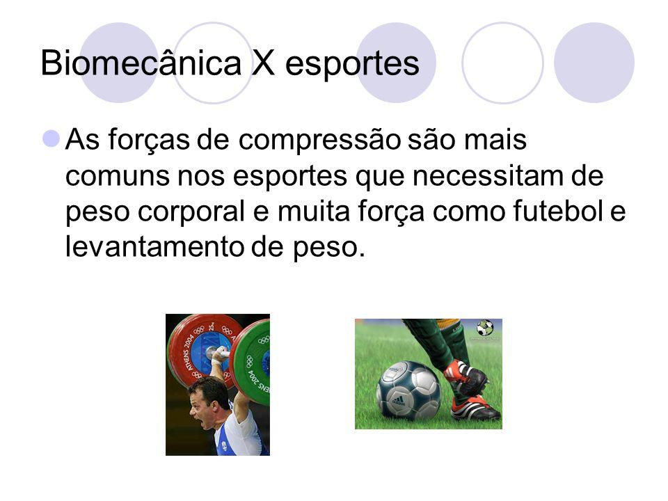 Biomecânica X esportes