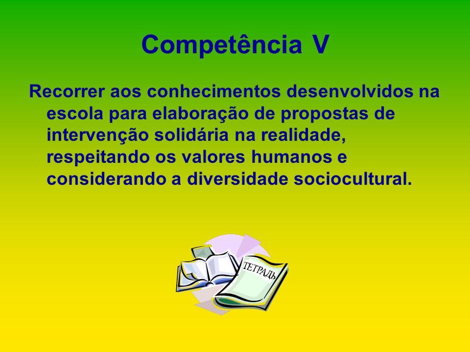 Competência V