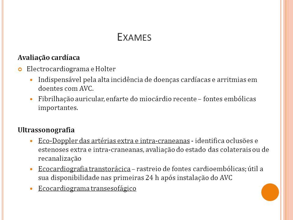 Exames Avaliação cardíaca Electrocardiograma e Holter