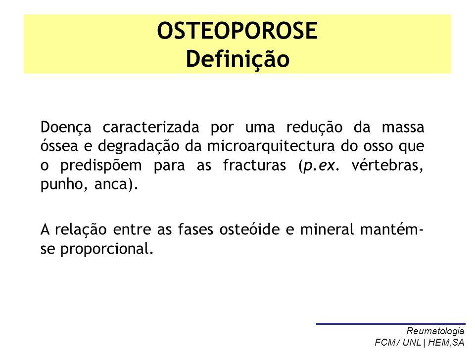 OSTEOPOROSE Definição