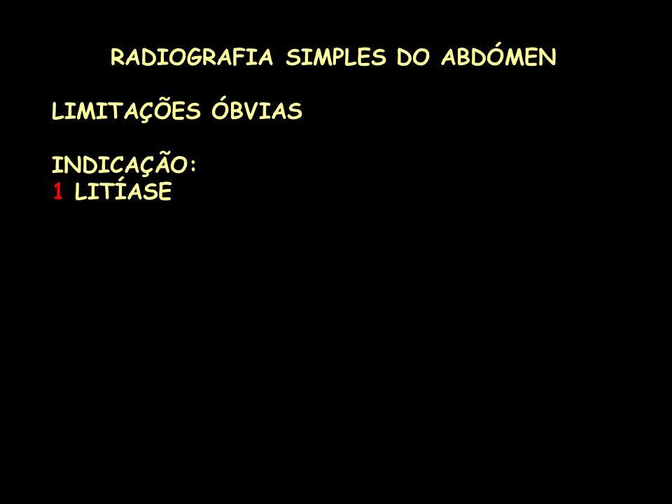 RADIOGRAFIA SIMPLES DO ABDÓMEN