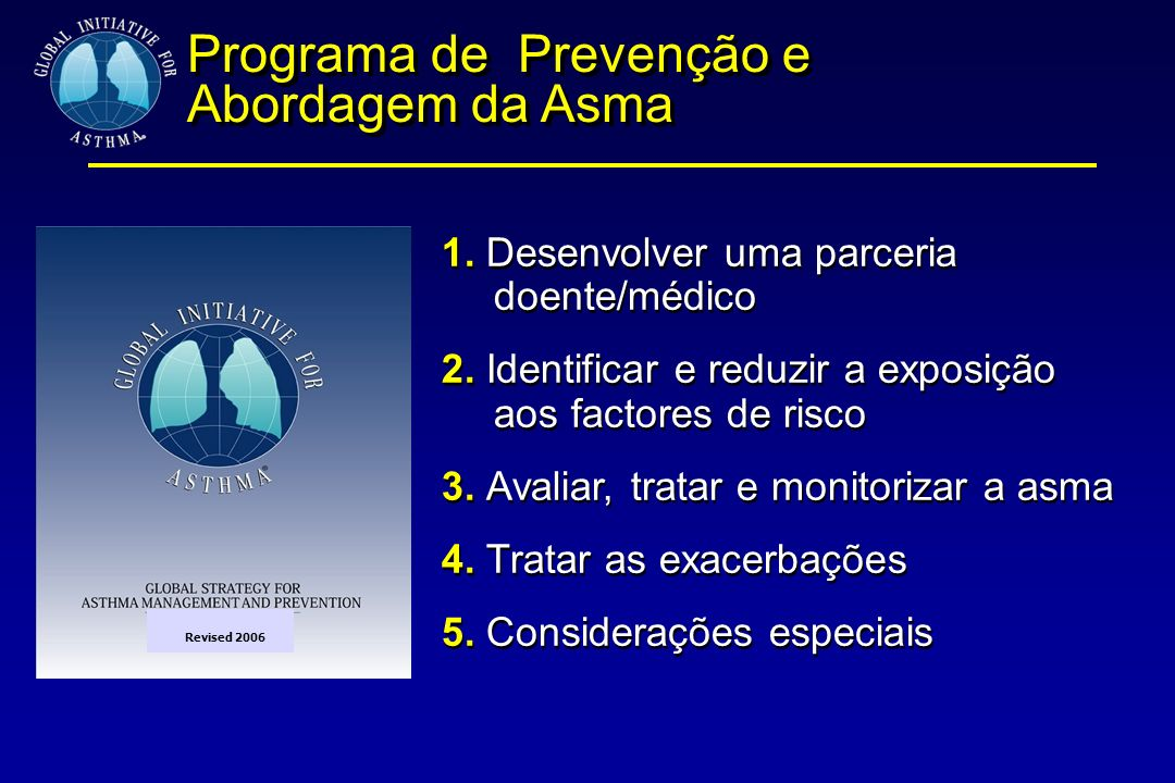 Programa de Prevenção e Abordagem da Asma