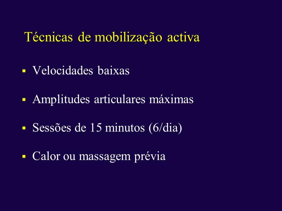 Técnicas de mobilização activa