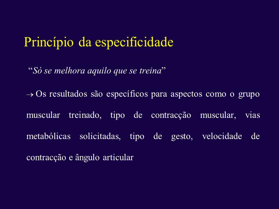 Princípio da especificidade