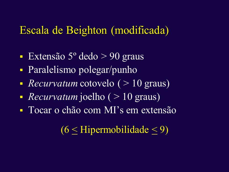Escala de Beighton (modificada)