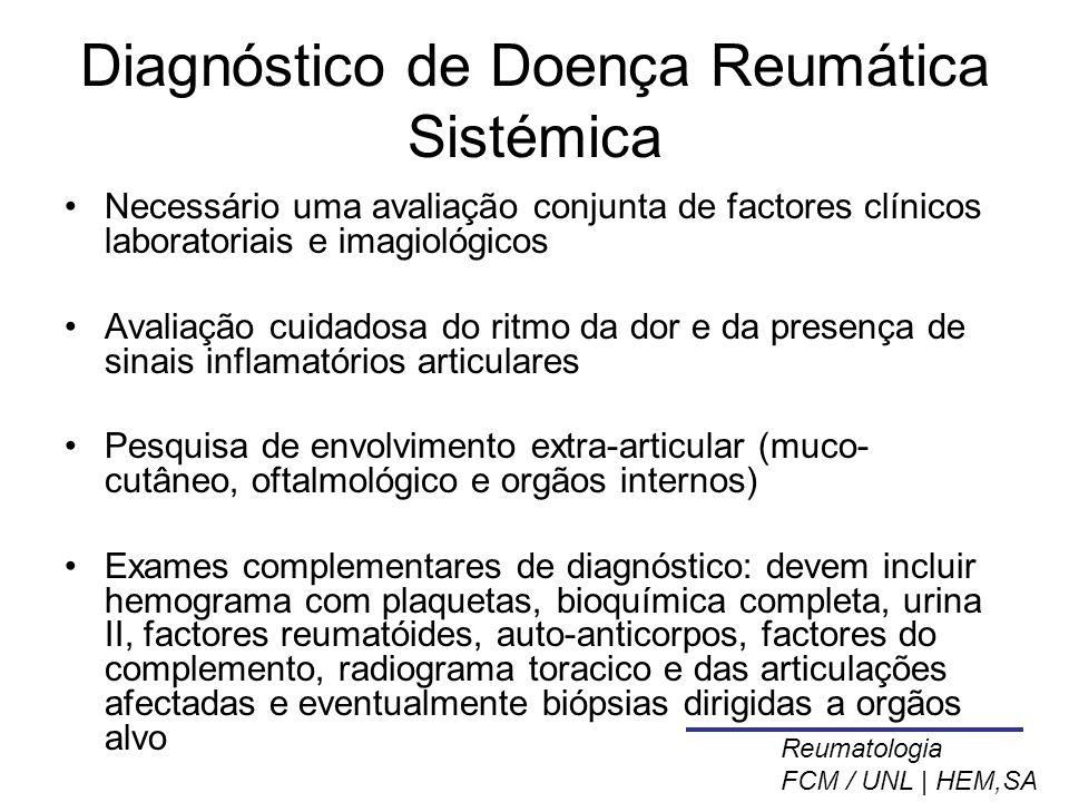 Diagnóstico de Doença Reumática Sistémica