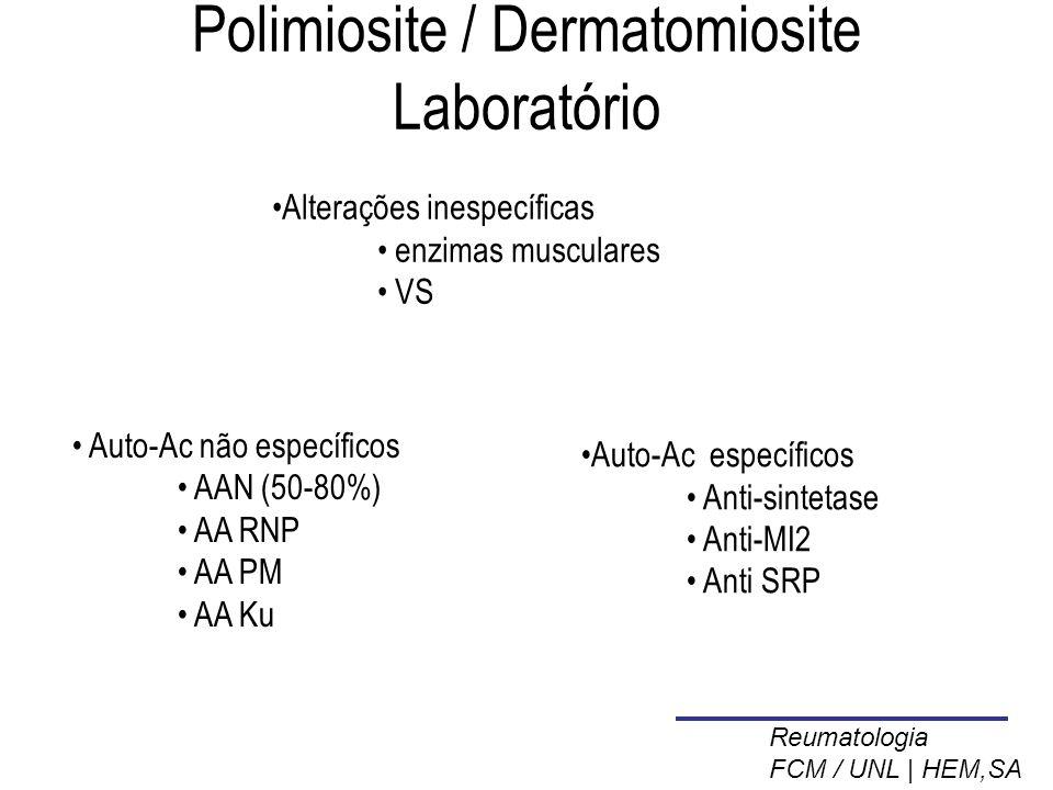 Polimiosite / Dermatomiosite Laboratório