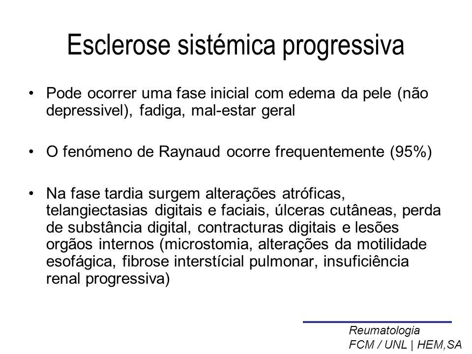 Esclerose sistémica progressiva