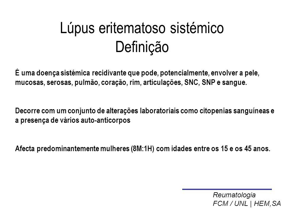 Lúpus eritematoso sistémico Definição