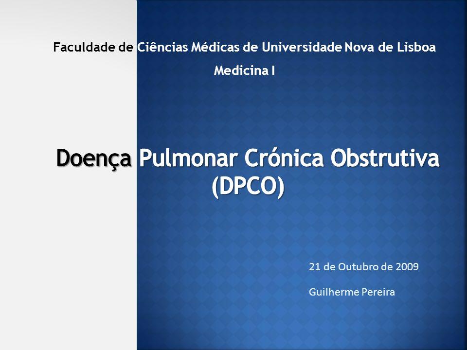 Doença Pulmonar Crónica Obstrutiva (DPCO)