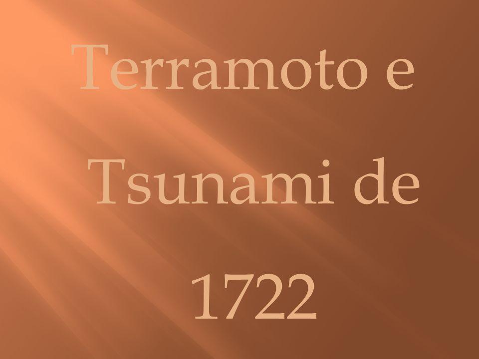 Terramoto e Tsunami de 1722