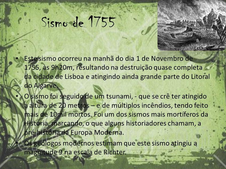 Sismo de 1755