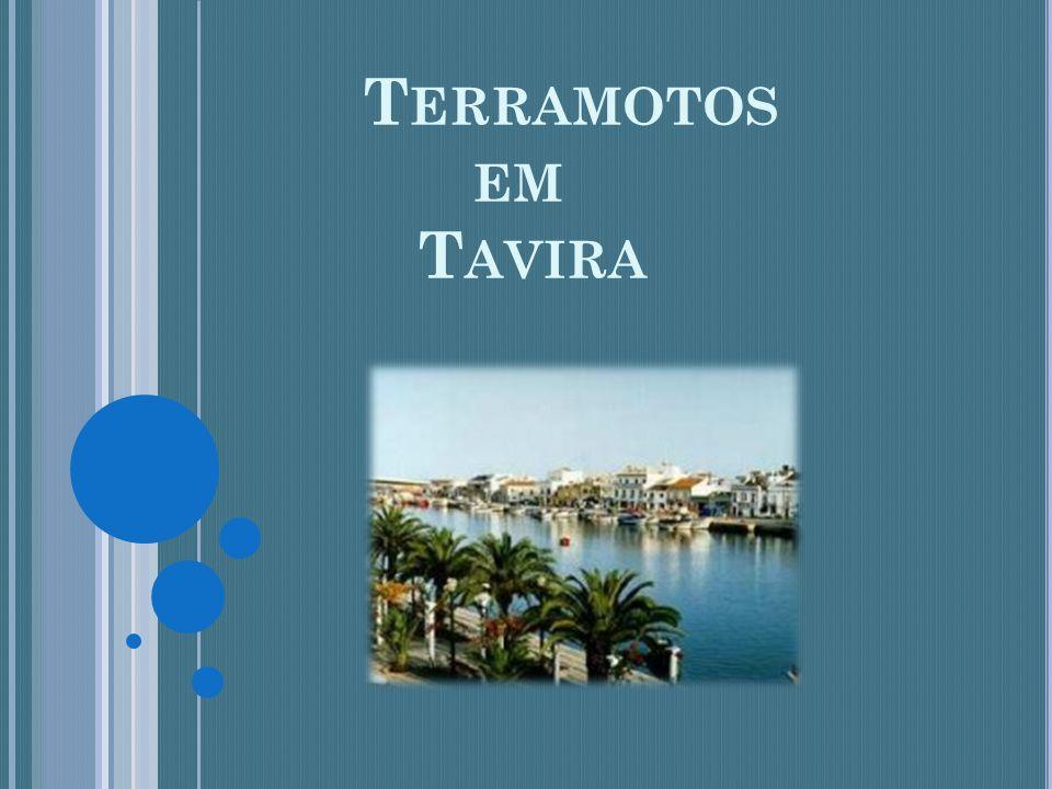 Terramotos em Tavira