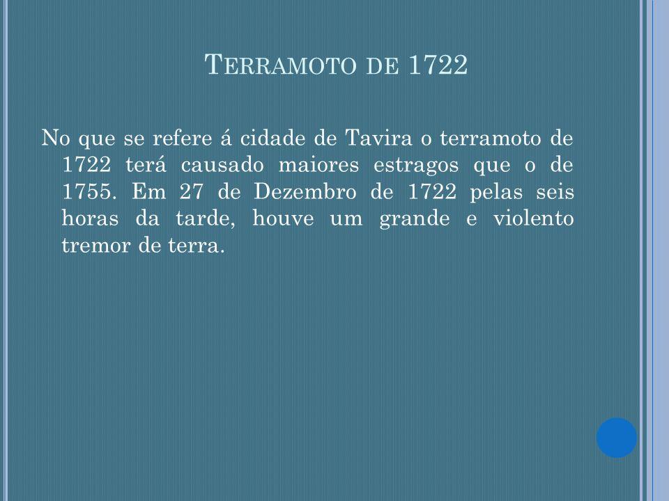 Terramoto de 1722