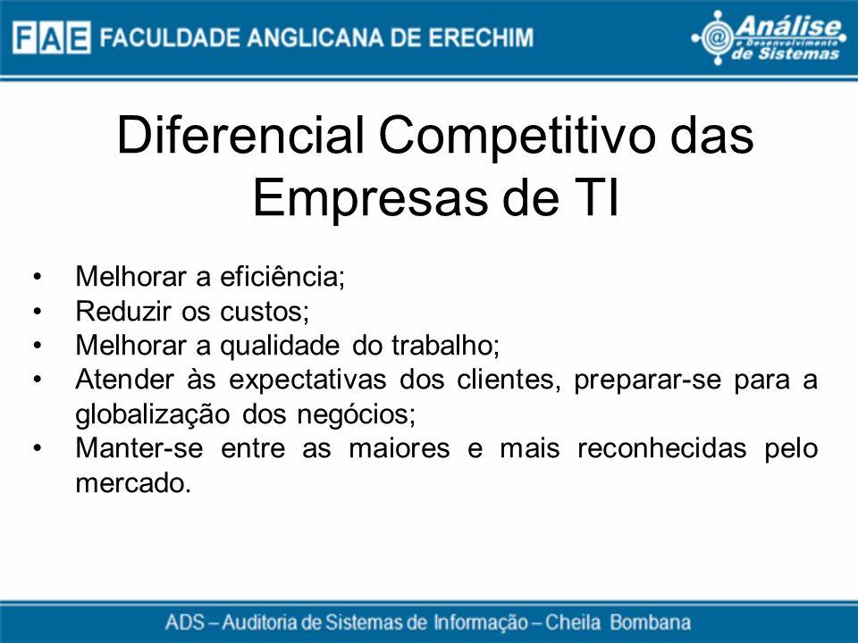 Diferencial Competitivo das