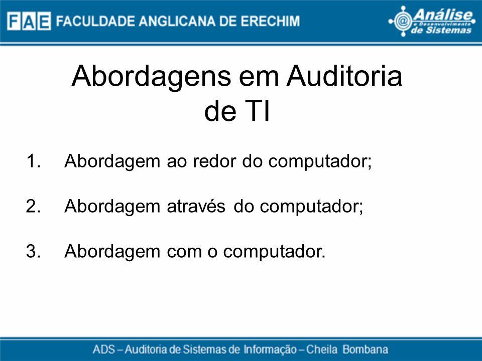 Abordagens em Auditoria de TI