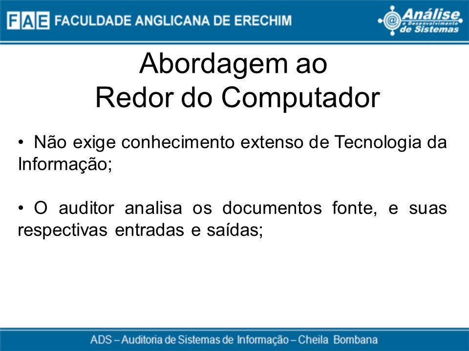 Abordagem ao Redor do Computador