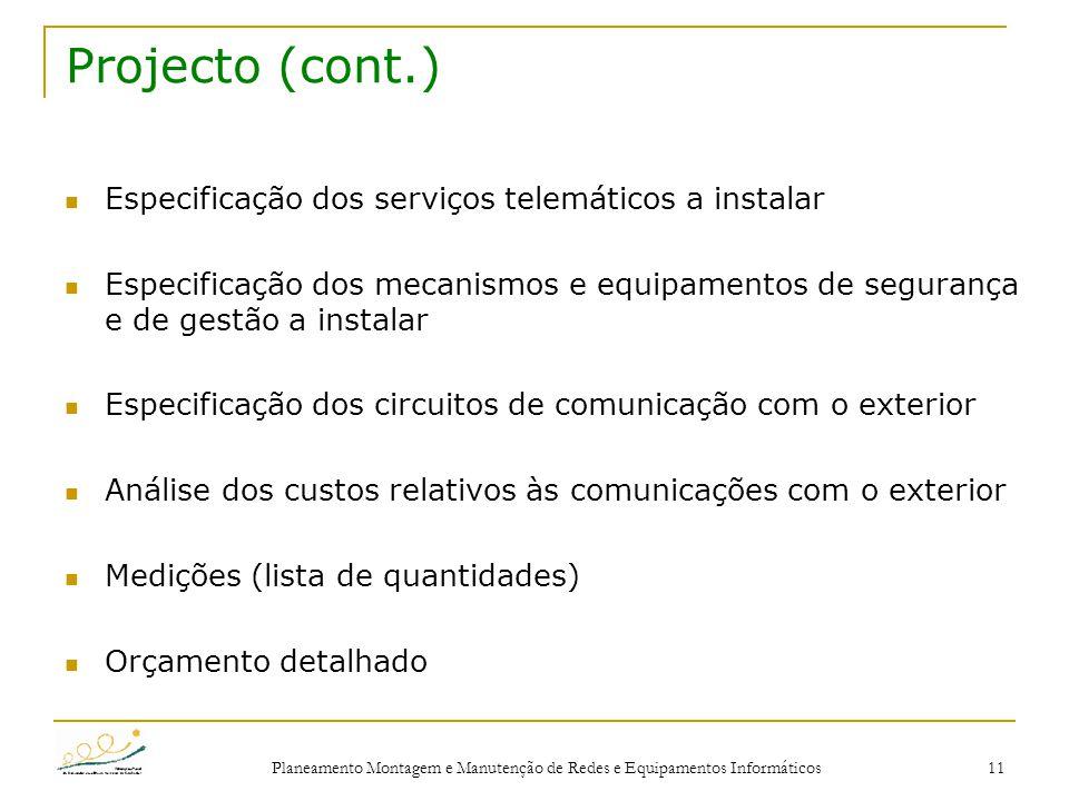 Planeamento e projecto de redes ppt carregar for Exterior relativo