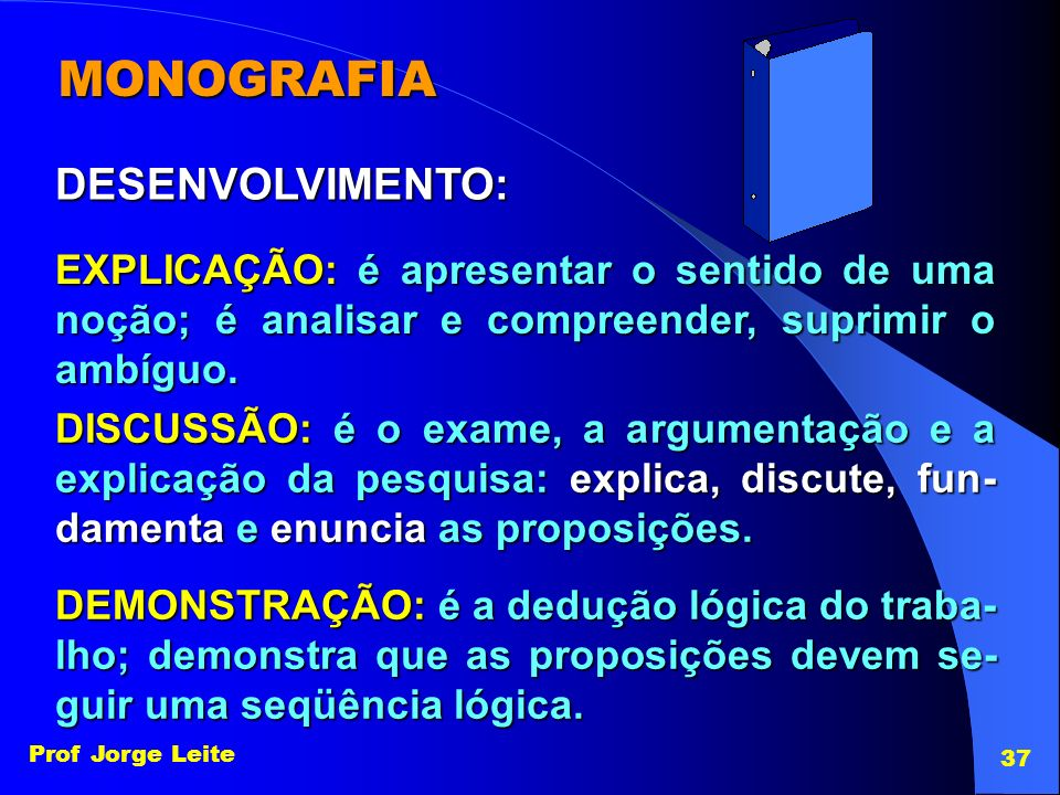 MONOGRAFIA DESENVOLVIMENTO: