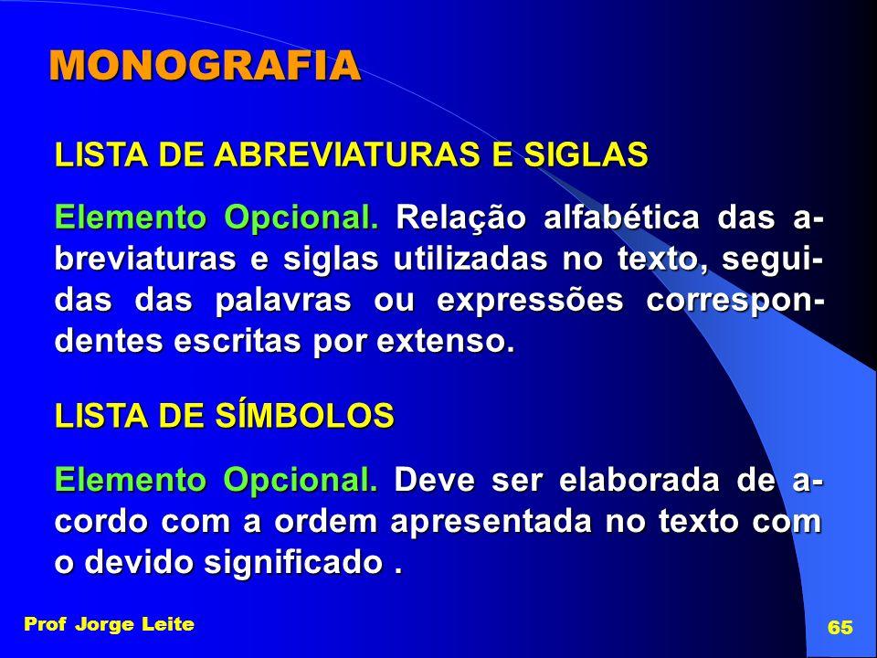 MONOGRAFIA LISTA DE ABREVIATURAS E SIGLAS