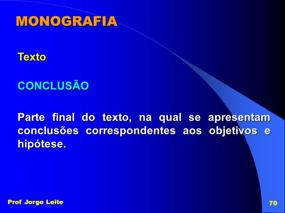 MONOGRAFIA Texto CONCLUSÃO