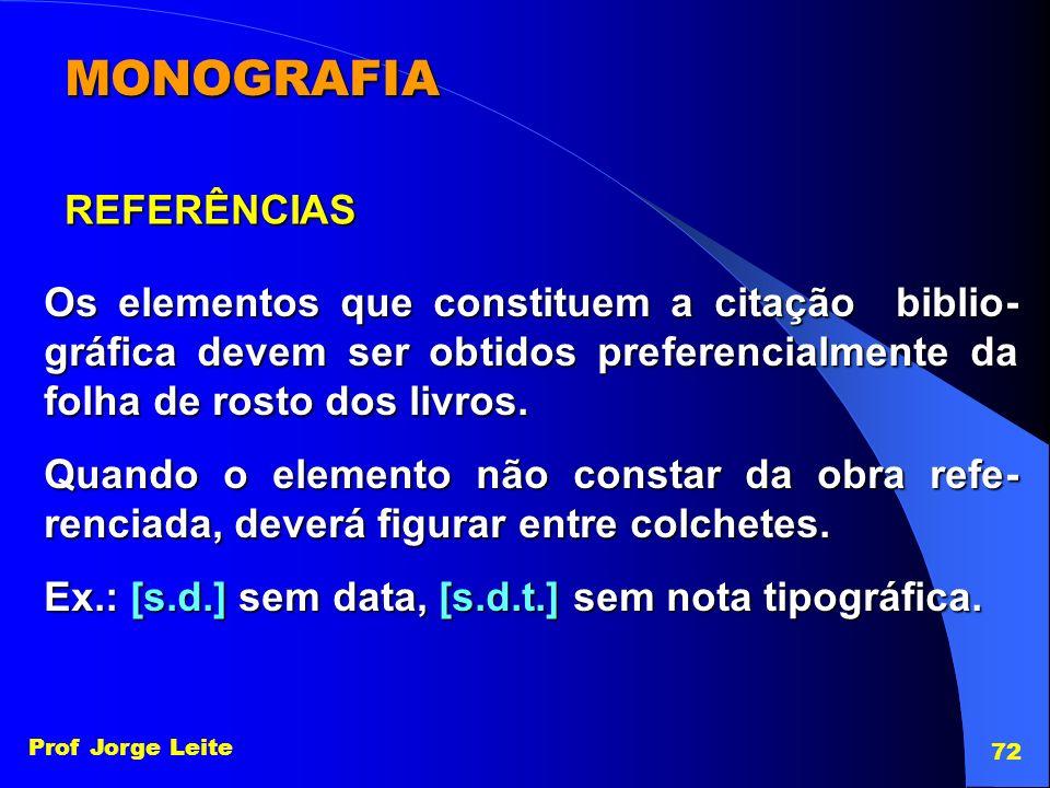 MONOGRAFIA REFERÊNCIAS