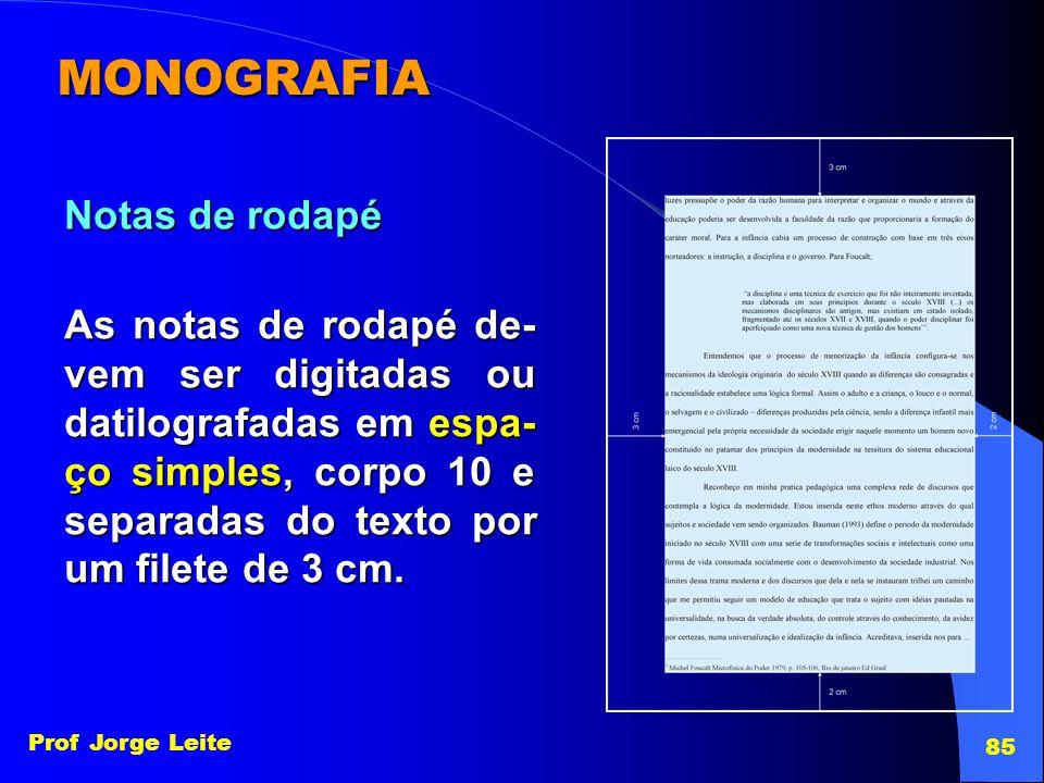 MONOGRAFIA Notas de rodapé