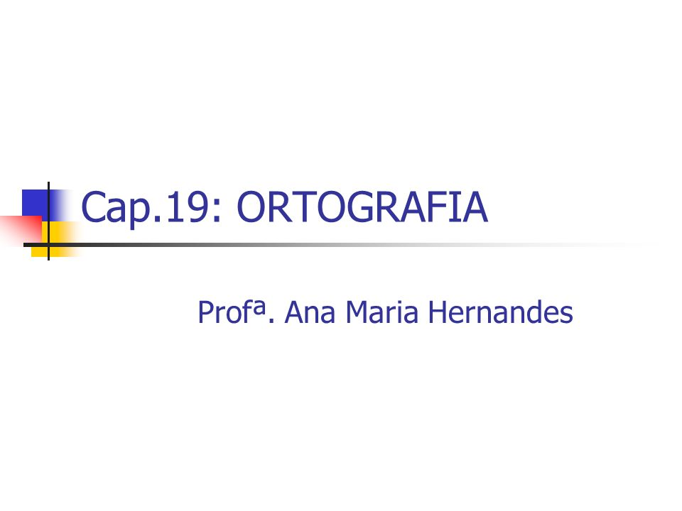 Profª. Ana Maria Hernandes