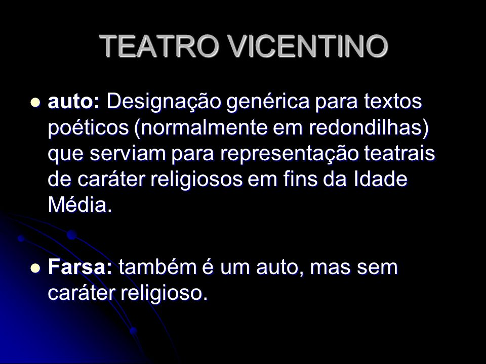 TEATRO VICENTINO