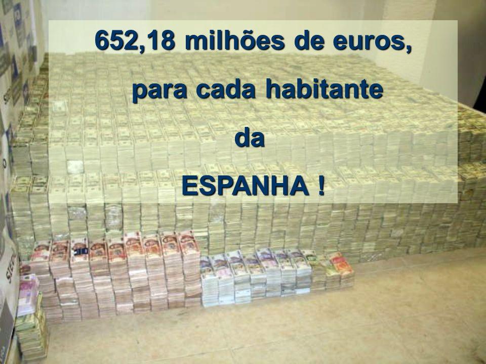 652,18 milhões de euros, para cada habitante da ESPANHA !