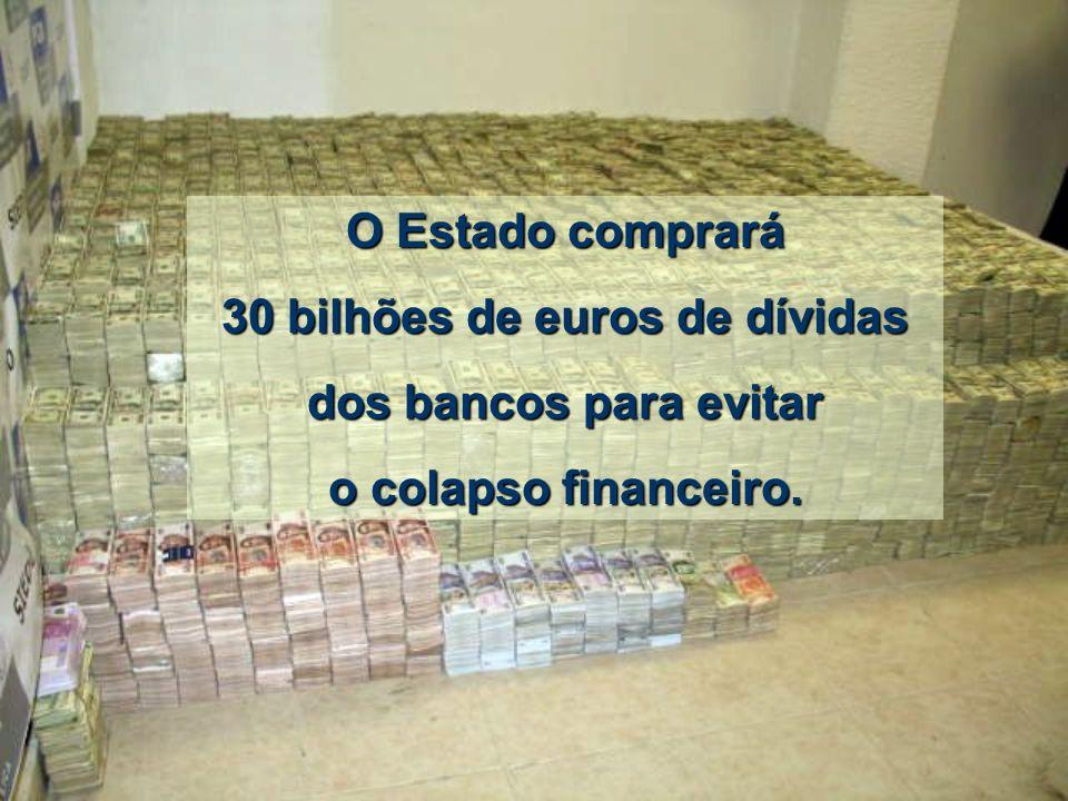 30 bilhões de euros de dívidas