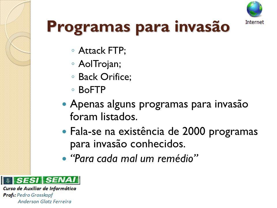 Programas para invasão