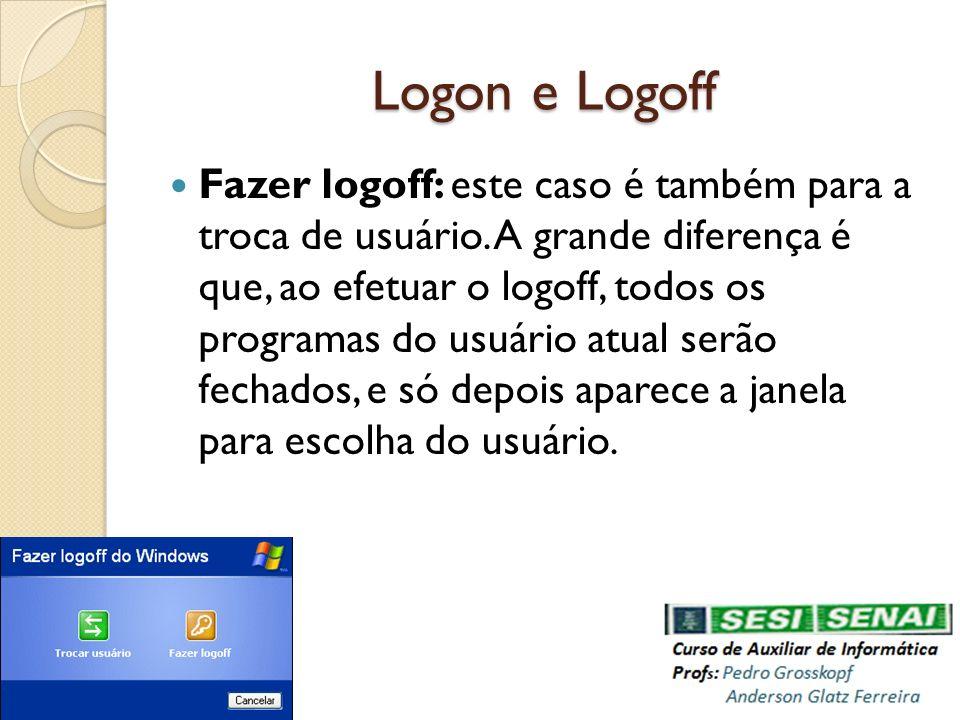 Logon e Logoff