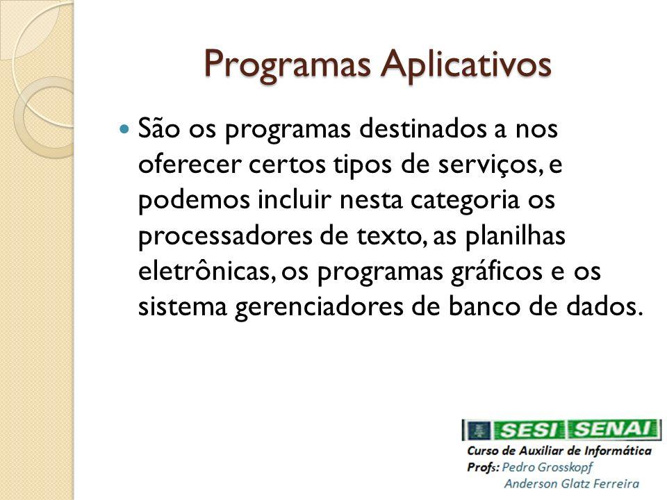 Programas Aplicativos
