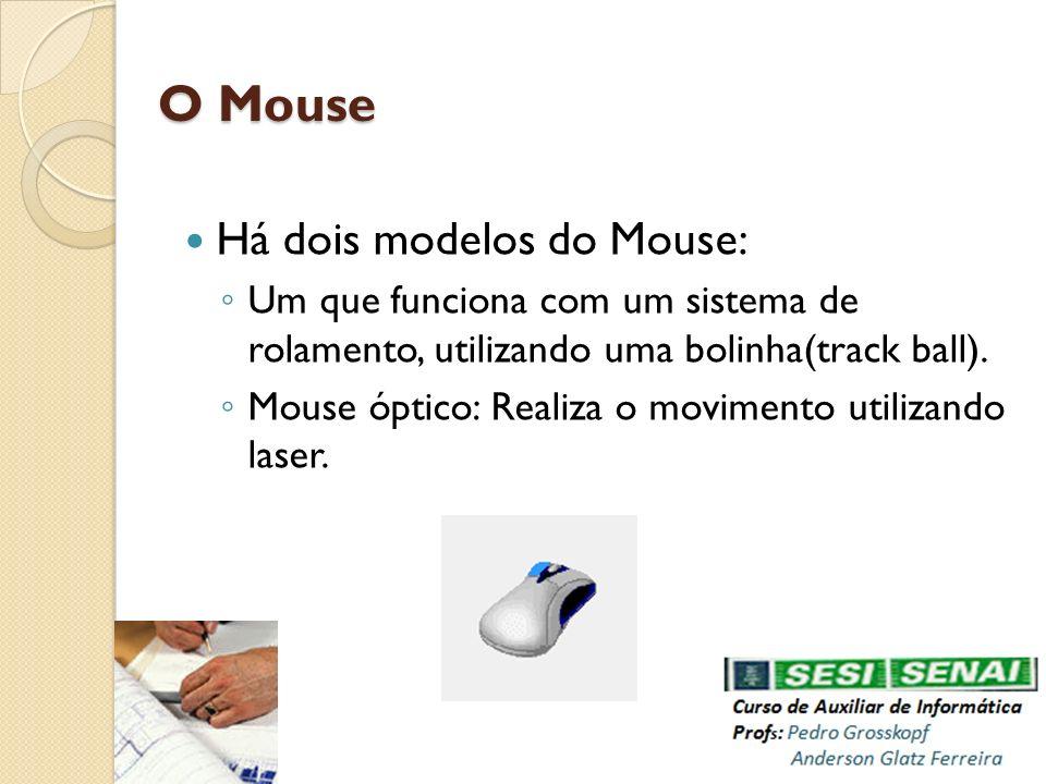 O Mouse Há dois modelos do Mouse: