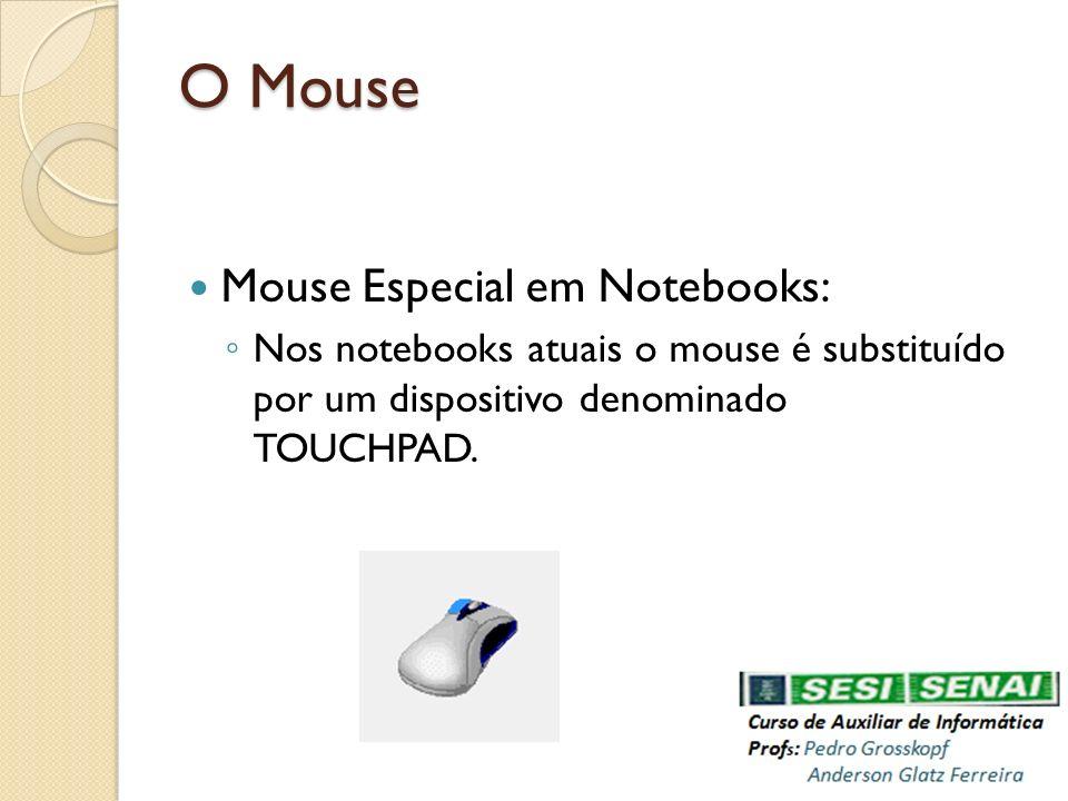 O Mouse Mouse Especial em Notebooks: