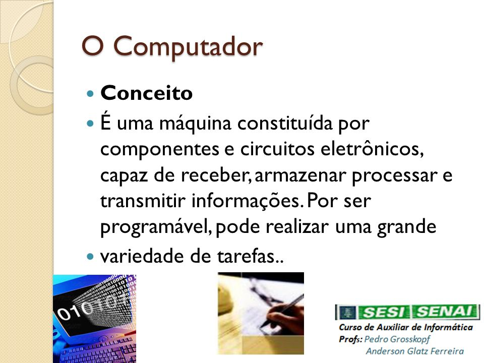 O Computador Conceito.