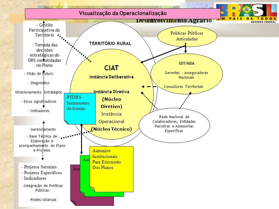 Visualização da Operacionalização Instância Deliberativa