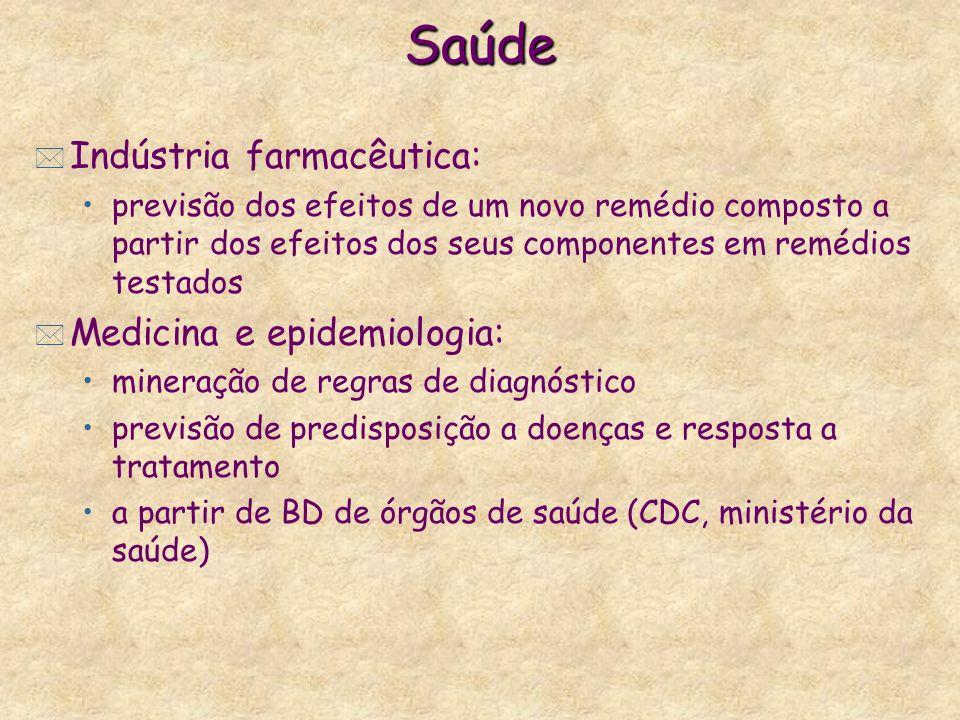 Saúde Indústria farmacêutica: Medicina e epidemiologia: