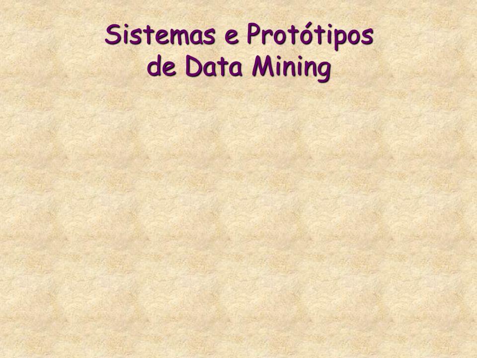 Sistemas e Protótipos de Data Mining
