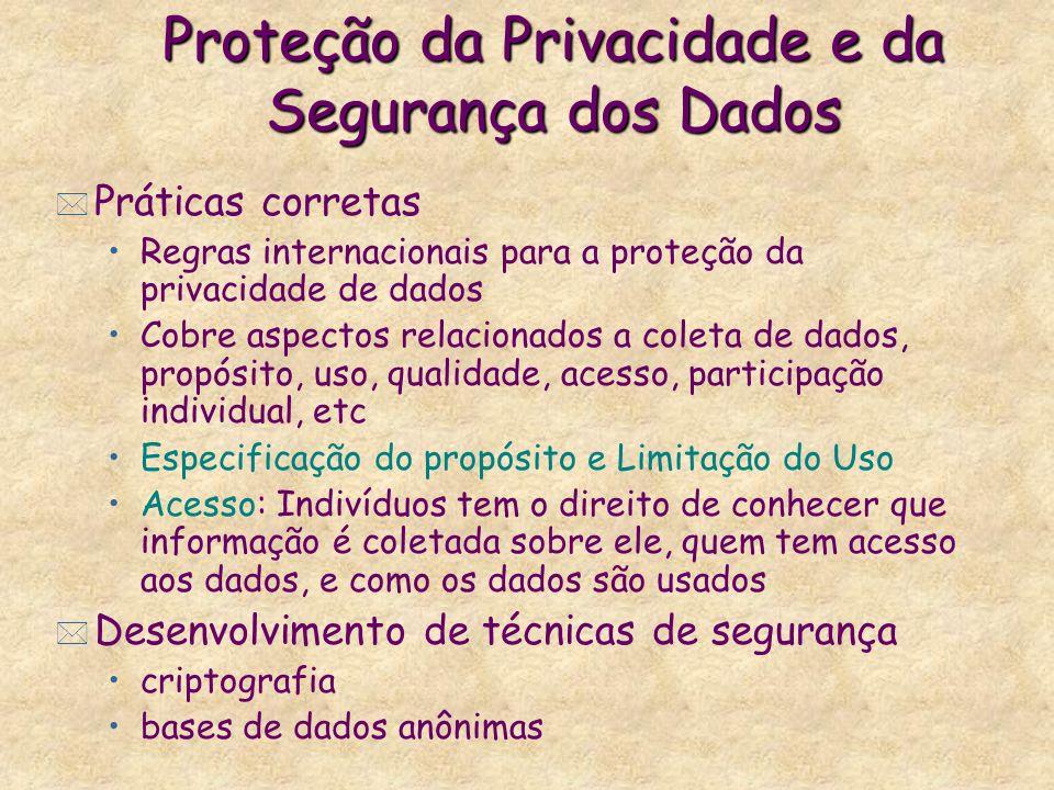 Proteção da Privacidade e da Segurança dos Dados