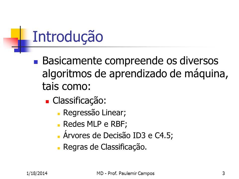 MD - Prof. Paulemir Campos